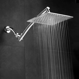 Aquagenix Razor Mega Size 9 Square Rainfall Shower