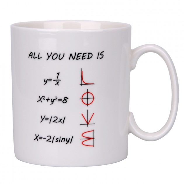 ESEOE Coffee Mug, 15oz Mugs Math Design Funny Coffee Mug ...