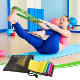 Exercise Bands Loops: Set Of 5 Promotion #y5h5a7i2