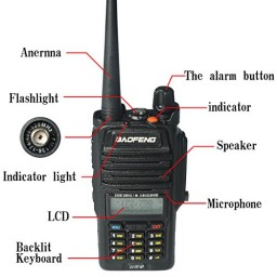 Image result for BaoFeng UV-5R WP Dual Band Two Way Transceiver