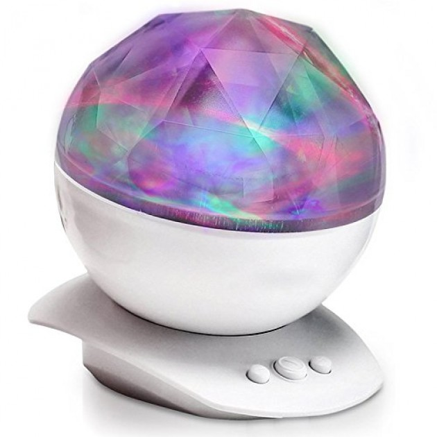 Pys Aurora Projection Led Night Light Lamp Color Changing
