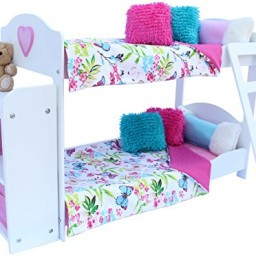Elegant 20 Pc. Bedroom Set For 18 Inch American Girl Doll Promotion