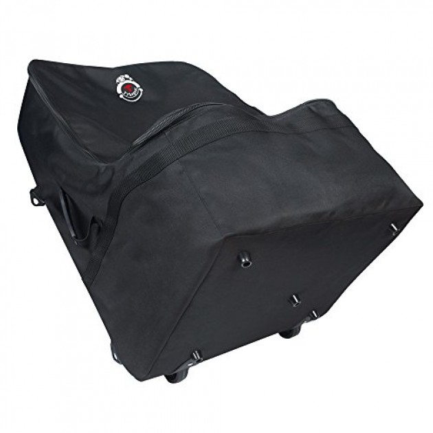 Padded Car Seat Travel Bag With Wheels