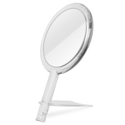 1x 5x Magnification Double Sided Hand Held Makeup Mirror