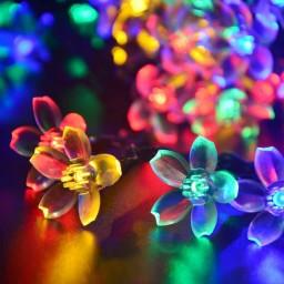 Jobelle Solar Fairy Multi Colored Led String Lights