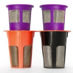 2 reusable k carafe and 2 reusable k cup filters for keurig 20 promotion