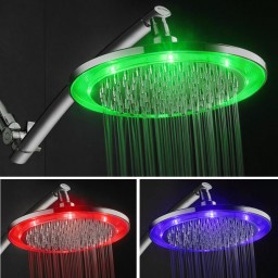Ip Showers Http Www Ipshowers Is Promoting Their Hotelspa Giant 10 Color Changing Led Rainfall Shower Head