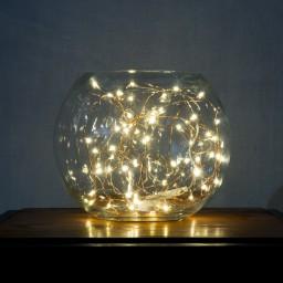 Indoor Decorative LED Wire Lights 33ft/10M 100 Leds -Warm White ...