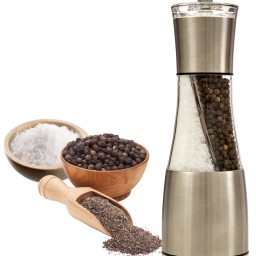 groovy grinders 2 in 1 salt and pepper grinder mill set. Black Bedroom Furniture Sets. Home Design Ideas