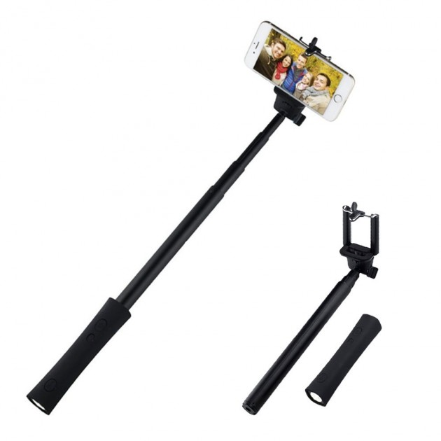 3 in 1 bluetooth selfie scope powerbank bluetooth selfie stick led torch p. Black Bedroom Furniture Sets. Home Design Ideas