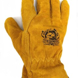 Leather work gloves grainger - Leather Work Gloves Insulated Thick Heavy Duty Welding