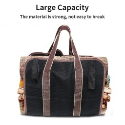 Lingsfire Log Carrier Firewood Tote Wood Carrying Bag