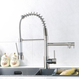 Terra Pull Out Kitchen Sink Faucet W Sprayer And Pot Filler Spout
