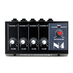 Maxtomars 4 Channels Mini Mixer Mic Line Audio Mixing Console Promotion