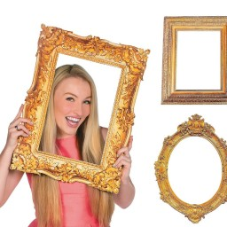 Deluxe Gold Picture Frame Cutouts (3 Piece Variety Pack) Promotion ...