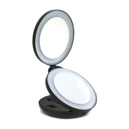 Led Lighted Makeup Mirror With 10x Magnifying Promotion