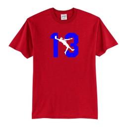 newest 8efc9 0e6f2 Odell BECKHAM Jr. OBJ #13 T-shirt THE CATCH Poster Shirt NFL Jersey, TOP  QUALITY
