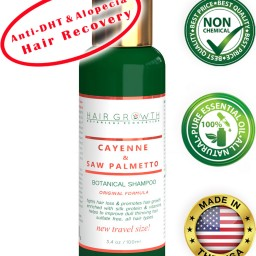 Botanical Shampoo Anti-DHT And Alopecia Prevention Cayenne Saw Palmetto