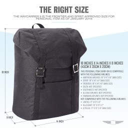Waycarrier II Carry On Backpack For Spirit, American And