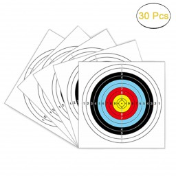 Archery Targets Paper 40 Cm 10 Ring 30Pcs Promotion #e2l8n5w9