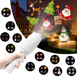 Christmas Music Led Projector Flashlight Gifts For Kids, Light Up ...