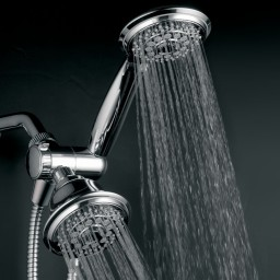 HotelSpa 4-in Chrome Showerheads With Hand Showers Promotion #q0d2d9b0