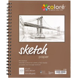 Colore Sketch Pad For Drawing And Sketching Promotion #o8k7c2i2