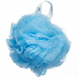 Luxury Loofah Shower Pouf   3 Pack, Light Blue Promotion